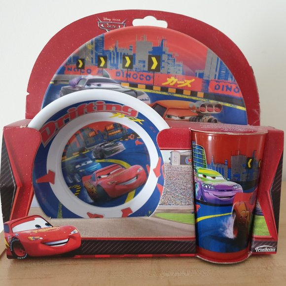 Disney Cars 3 Kids' Dinnerware Set